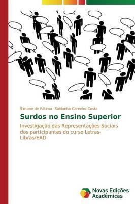 Surdos No Ensino Superior (Paperback)