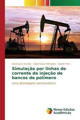 Simulacao Por Linhas de Corrente Da Injecao de Bancos de Polimero (Paperback)