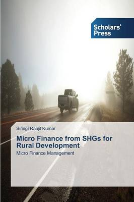 Micro Finance from Shgs for Rural Development (Paperback)