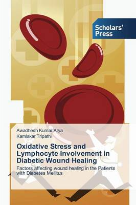 Oxidative Stress and Lymphocyte Involvement in Diabetic Wound Healing (Paperback)