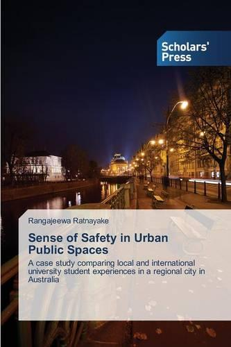 Sense of Safety in Urban Public Spaces (Paperback)