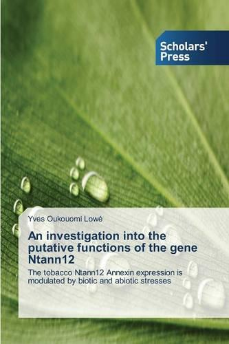 An Investigation Into the Putative Functions of the Gene Ntann12 (Paperback)