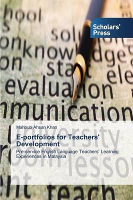 E-Portfolios for Teachers' Development (Paperback)