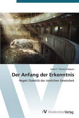 Der Anfang Der Erkenntnis (Paperback)