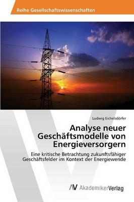 Analyse Neuer Geschaftsmodelle Von Energieversorgern (Paperback)
