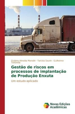 Gestao de Riscos Em Processos de Implantacao de Producao Enxuta (Paperback)