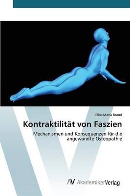 Kontraktilitat Von Faszien (Paperback)