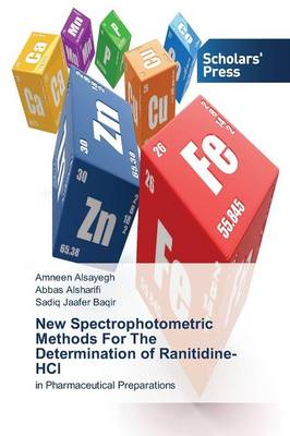 New Spectrophotometric Methods for the Determination of Ranitidine-Hcl (Paperback)