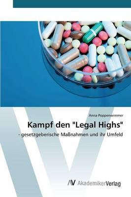 """Kampf Den """"Legal Highs"""" (Paperback)"""