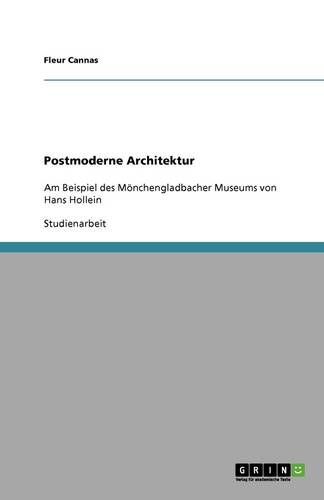 Postmoderne Architektur (Paperback)