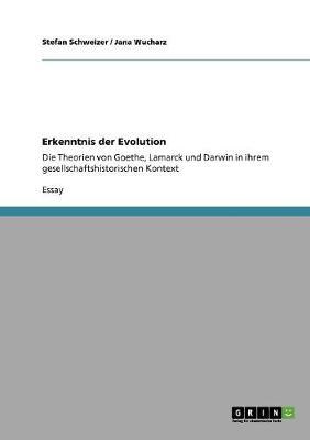 Erkenntnis Der Evolution (Paperback)