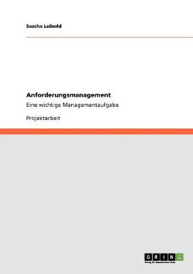 Anforderungsmanagement (Paperback)