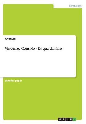 Vincenzo Consolo - Di Qua Dal Faro (Paperback)