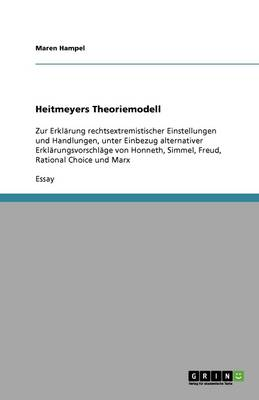 Heitmeyers Theoriemodell (Paperback)