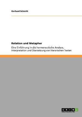 Relation Und Metapher (Paperback)