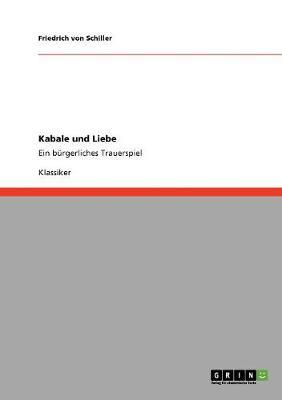 Kabale Und Liebe (Paperback)