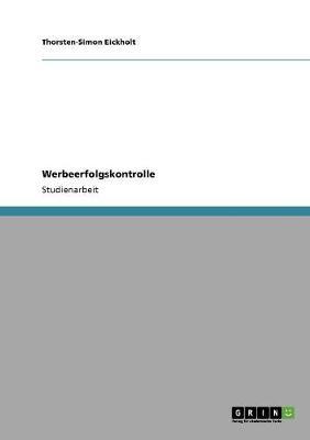 Werbeerfolgskontrolle (Paperback)