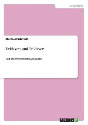Territoriale Anomalien. Exklaven Und Enklaven (Paperback)