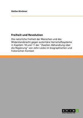 Freiheit Und Revolution (Paperback)