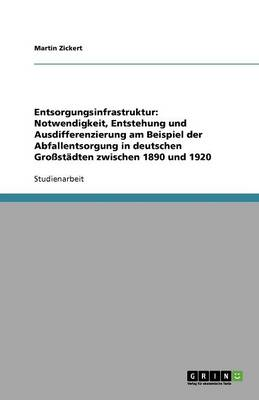 Entsorgungsinfrastruktur: Notwendigkeit, Entstehung Und Ausdifferenzierung Am Beispiel Der Abfallentsorgung in Deutschen Grostadten Zwischen 1890 Und 1920 (Paperback)