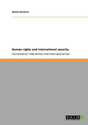 Human Rights and International Security (Paperback)