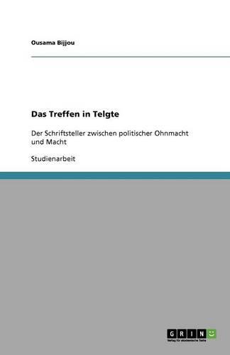 Das Treffen in Telgte (Paperback)