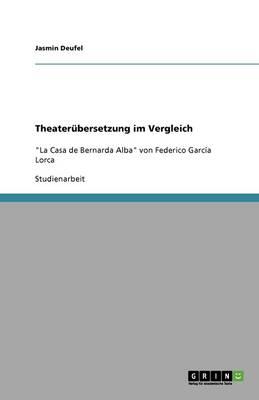 Theaterubersetzung Im Vergleich (Paperback)