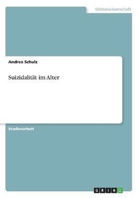 Suizidalitat Im Alter (Paperback)