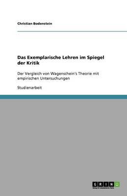 Das Exemplarische Lehren Im Spiegel Der Kritik (Paperback)