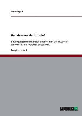 Renaissance Der Utopie? (Paperback)
