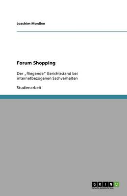 Forum Shopping (Paperback)