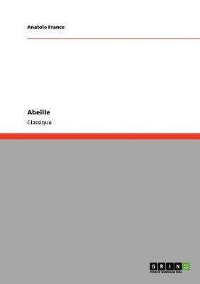 Abeille (Paperback)