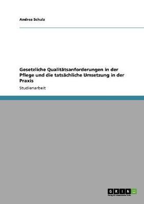Gesetzliche Qualitatsanforderungen in Der Pflege Und Die Tatsachliche Umsetzung in Der Praxis (Paperback)