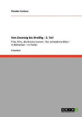 Von Zwanzig Bis Dreiig - 2. Teil (Paperback)