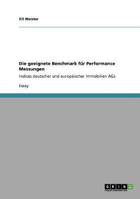 Die Geeignete Benchmark Fur Performance Messungen (Paperback)