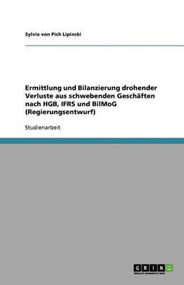 Ermittlung Und Bilanzierung Drohender Verluste Aus Schwebenden Geschaften Nach Hgb, Ifrs Und Bilmog (Regierungsentwurf) (Paperback)