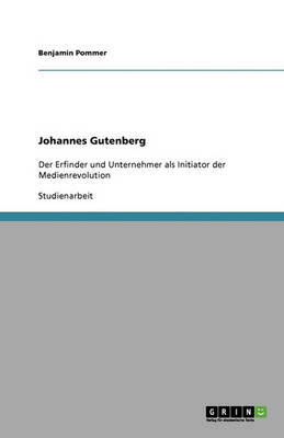 Johannes Gutenberg (Paperback)