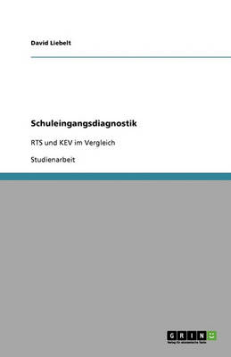 Schuleingangsdiagnostik (Paperback)