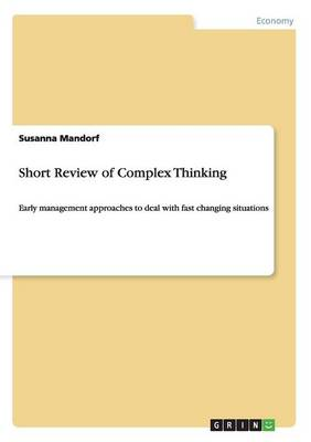 Short Review of Complex Thinking (Paperback)