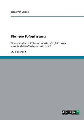Die Neue Eu-Verfassung (Paperback)