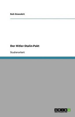 Der Hitler-Stalin-Pakt (Paperback)