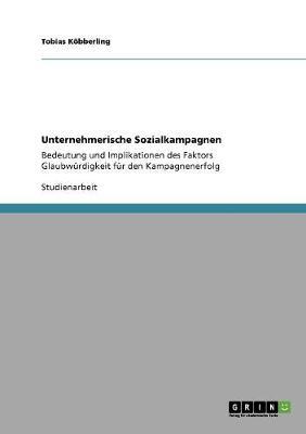 Unternehmerische Sozialkampagnen (Paperback)