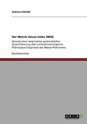 Der Messie House Index (Mhi) (Paperback)