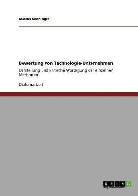 Bewertung Von Technologie-Unternehmen (Paperback)