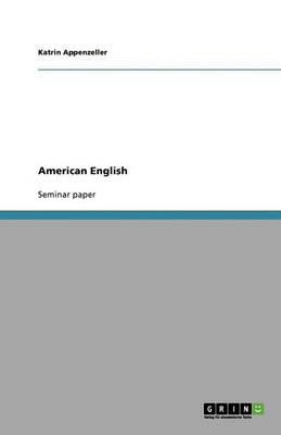 American English (Paperback)