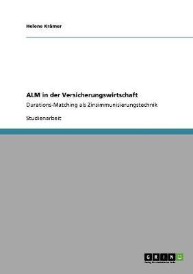 Alm in Der Versicherungswirtschaft (Paperback)
