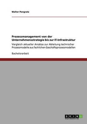 Prozessmanagement Von Der Unternehmensstrategie Bis Zur It-Infrastruktur (Paperback)
