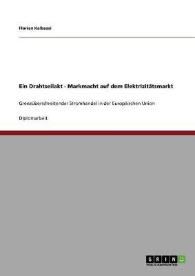 Ein Drahtseilakt - Markmacht Auf Dem Elektrizitatsmarkt (Paperback)