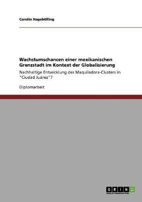Wachstumschancen Einer Mexikanischen Grenzstadt Im Kontext Der Globalisierung (Paperback)