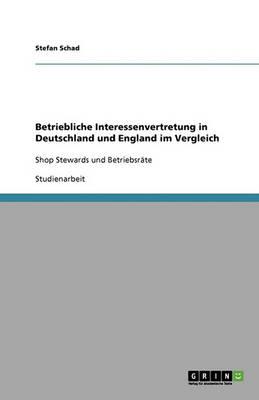 Betriebliche Interessenvertretung in Deutschland Und England Im Vergleich (Paperback)